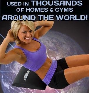 [Прямая поставка Доступно] Ab коврик/пресса Ab упражнение коврик для тренировки основных групп мышц высокой плотности пены/npgl(НПФЛ