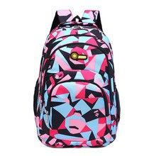 Рюкзак школьный детей школьные сумки для подростков мальчики девочки большой емкости ранец дети книга сумка mochila