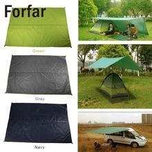 Уличная палатка для путешествий практичная ткань для кемпинга прочный мат многоцелевой брезент палатка для кемпинга Ткань водонепроницаемая ткань для пляжного пикника