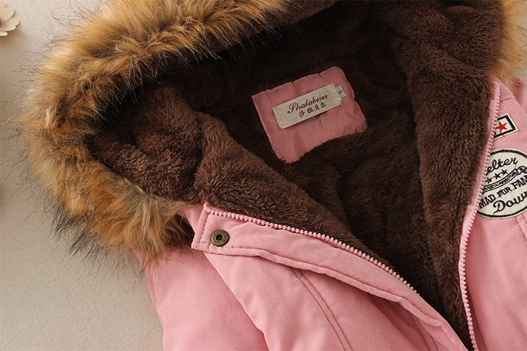 19 Winter New Women's Hooded Fur Collar Waist And Velvet Thick Warm Long Cotton Coat Jacket Coat 20