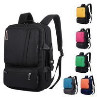 Multifunctional Laptop Backpack 15 15.4 15.6 17 17.3 inch notebook Briefcase/shoulder bag/handbag school Bag for men women