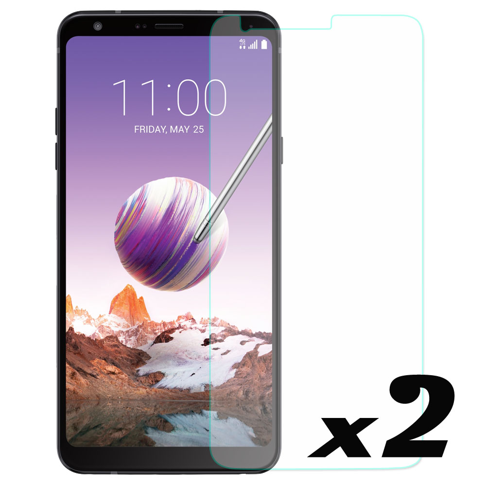 2pcs/lot 9H Hardness HD Tempered Glass Screen Protector Explosion-proof Front Guard Films For LG Stylo 4 / Q Stylus Plus Q710MS