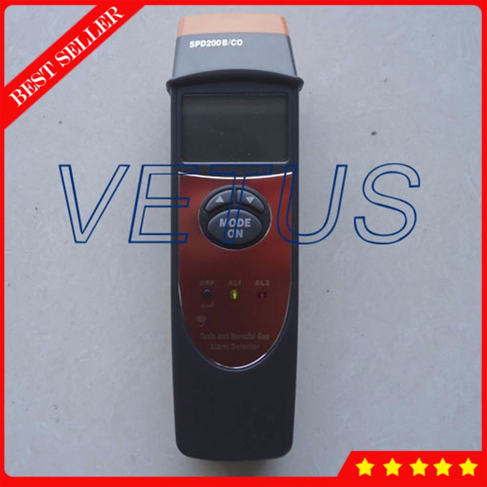 0~1,000PPM Digital CO Gas Detector with SPD200/CO Portable Carbon Monoxide Tester Meter