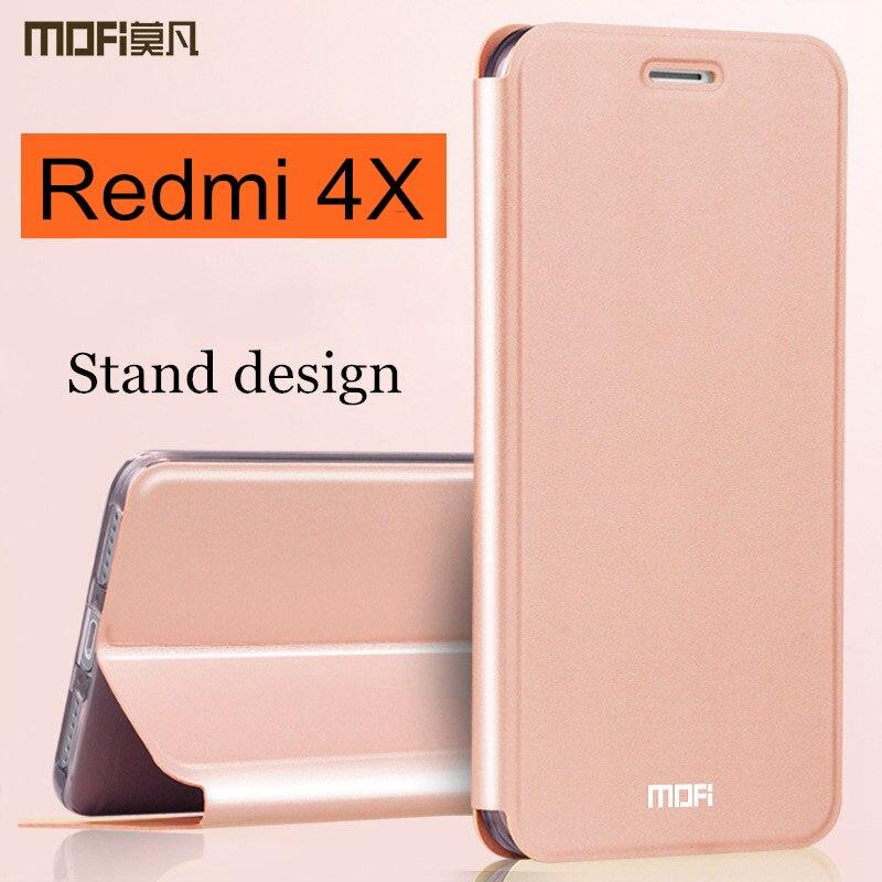 xiaomi-redmi-caso-4x-tampa-redmi4x-flip-case-capa-voltar-couro-mofi-silicone-hard-coque-global-versao-xiaomi-redmi-4x-caso