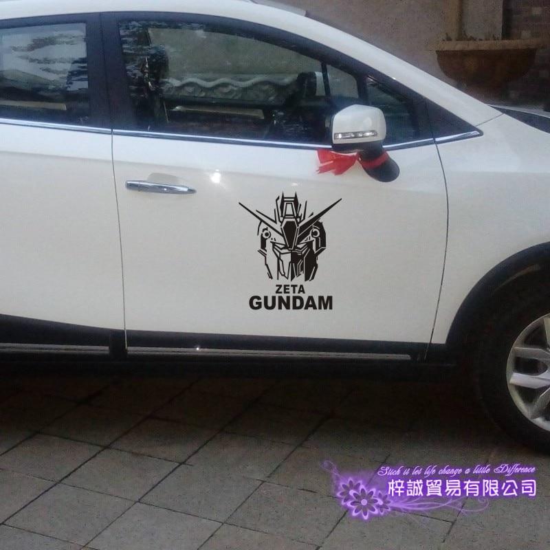 pegatina gundam sticker anime cartoon car decal sticker zeta vinyl