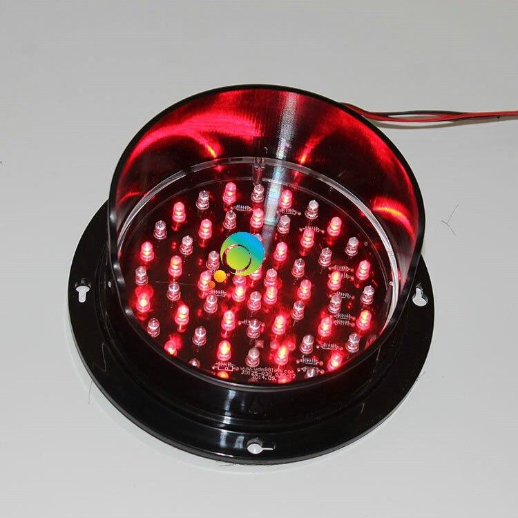 Núcleo conduzido vermelho do tráfego da lâmpada