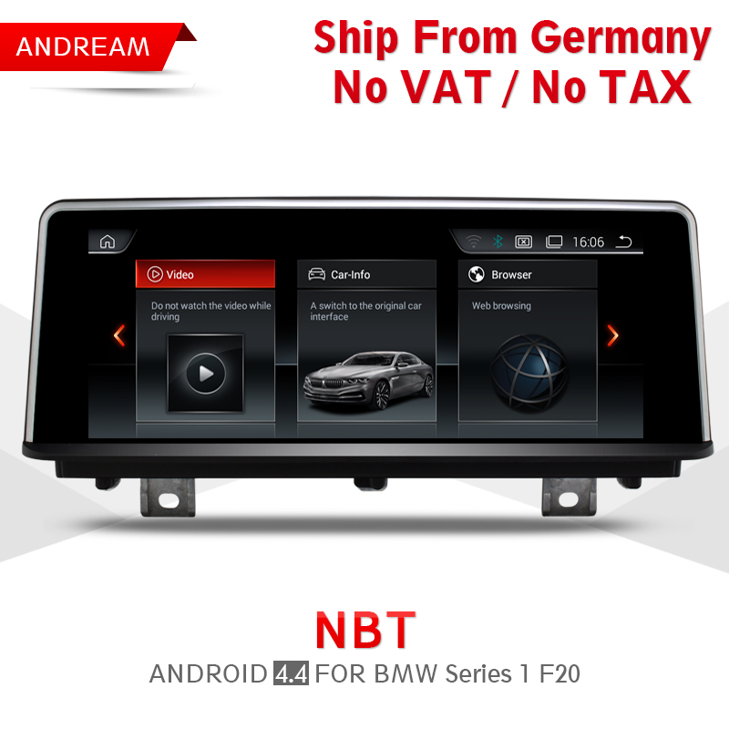 Quad Core Android 4.4 Vehicle multimedia player Germany Shipping For BMW Series 1/2 F20 Bluetooth gps navigation Wifi EW962A