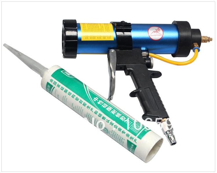 air protable glass caulking silicone gun,Pneumatic glue