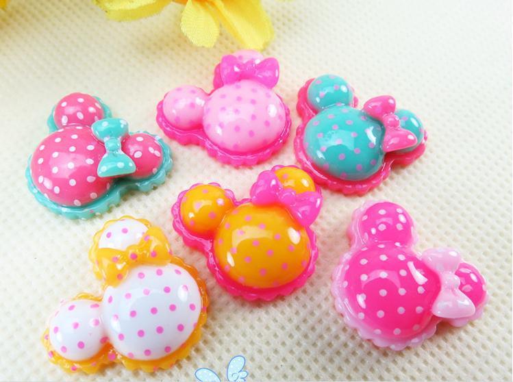 500pcs Mixed Mini couleurs forme ronde résine boutons lots 2 Trous À faire soi-même Couture 6 mm