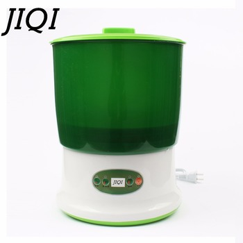 JIQI Ev Kullanımı Istihbarat Fasulye Filizi S Makinesi Büyük Kapasiteli Termostat Yeşil Tohumları Büyüyen Otomatik Fasulye Filizi Makinesi Ab
