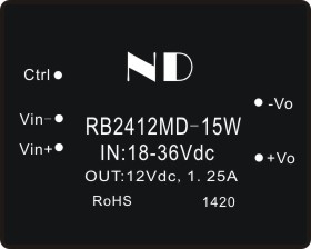 цена на 1pcs wide voltage power module 24V to 12V 15W  regulated dc dc ste down converter quality goods