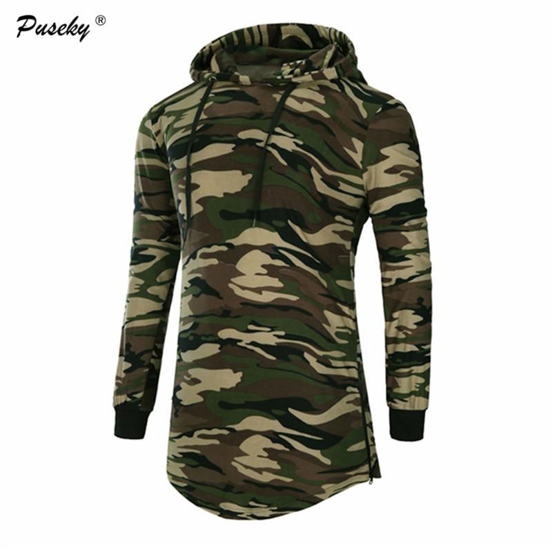 New Autumn Winter Mens Hoodie Casual Hoodies Brand Men Hooded tops Sweatshirt Male Camo Hoody Hip Hop Pullover Plus Size 3XL