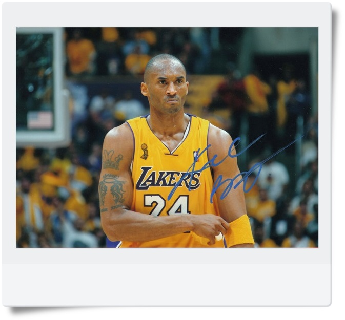 signed Kobe Bryant autographed  original photo 7  inches free shipping 3 versions 082017b signed snsd yoona autographed original photo holiday night 6 inches 56versions free shipping 082017