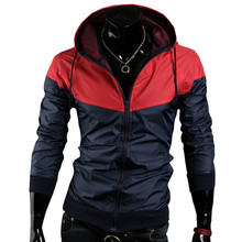 2015 Stylish Fashion High Quality Jacket Coats, Men Causal Hooded Jacket,Men Thin Windbreaker Zipper Coats Outwear