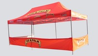 3*6 meters iron bracket A class luxury roof top tent, with customized logos, water proof, sun shading, uv proof, good price