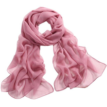 Women Light Color Scarves Chiffion Material Pink White Black Color Fashion Scarves Femmen's Scarf 11 Colors The New Arrival 2017
