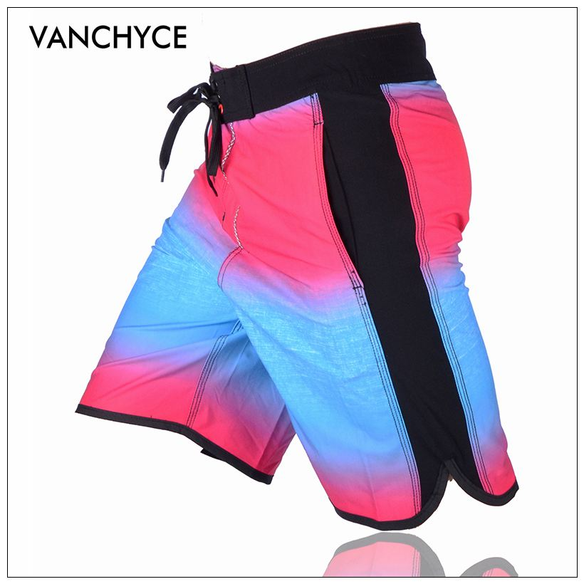 VANCHYCE Shorts Men Beach Shorts Men Bermuda Short Quick Dry Silver Mens Boardshorts Board Shorts Brand Swimwear Men