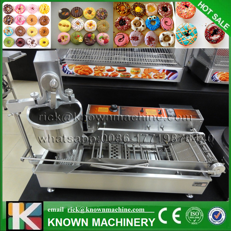 The best selling food Industrial mini donut making machines bagel machine for snack with free shipping by sea donut making frying machine with electric motor free shipping to us canada europe