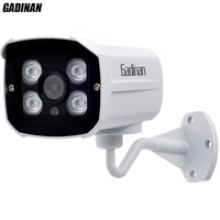 GADINAN 1080P IP Camera Metal Shell Waterproof Onvif 2 0 P2P 2MP Outdoor CCTV Home Security