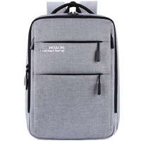 Business man USB Charge Backpack Waterproof Oxford Material air cushion Laptop Back pack Big Capacity bag For Travel