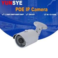 2018 NEW HD 1080P 1 3MP 2 0MP 4MP 5MP Security CCTV POE IP Camera Waterproof