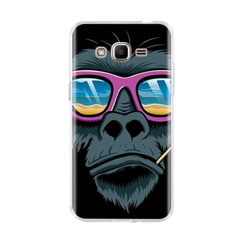 Voor Samsung J1 J3 J7 J5 2016 Case Silicone Cover 3D Zakken Kat Capa Voor Samsung Galaxy J1 J3 J5 j7 J5 2016 2015 Telefoon Gevallen Shell