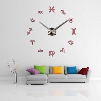 new fashion diy wall clock europe 3d big quartz watch clocks living room large home decorative still life circular stickers 11