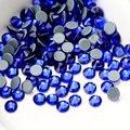 Высокое качество DMC сапфир горячей-исправить Стразы SS16, SS20 кристалл стекло железо на горном хрустале для одежды Свадебные украшения - фото