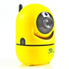 Mini 1080P 720P HD Wireless IP Camera WiFi IR P/T Video Surveillance Security CCTV Camera Super Smart Home Baby Monitor MAX 64G