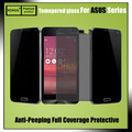 KOHUU Anti spy peeping glass tempered glass screen protector For Asus ZenFone 5 ZenFone 2 5.5 5.0 Ze500cl Ze550ml Privacy film