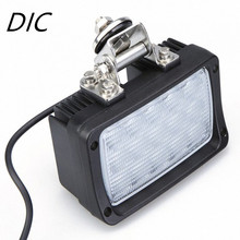DIC 1pcs 45W 12V 24V Flood Beam Waterproof Offroad Car LED Work Light Bar Auto Off road Motorcycle Tractor Boat ATV Worklights