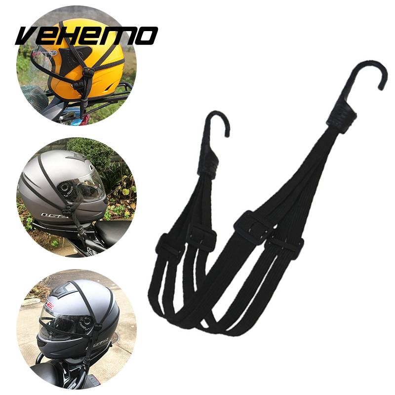 Motorcycle Helmet Fixed Strap Elastic String Net Luggage Bag Rope Cable