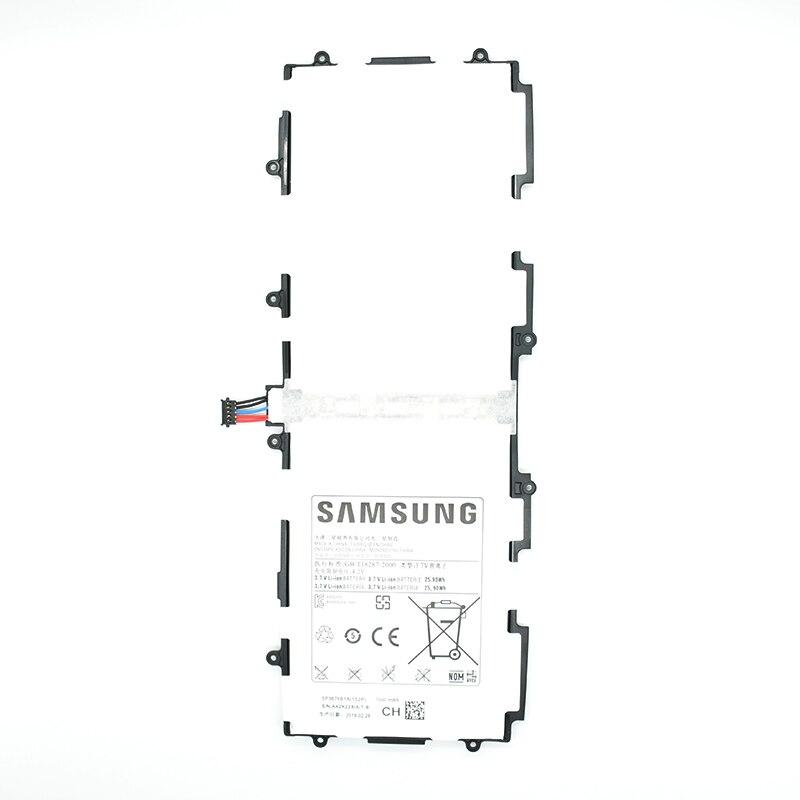 Bateria Original Tablette Rechargeable Batterie SP3676B1A 7000 mah Pour Samsung Galaxy Note Tab 10.1 N8020 P7510 P7500 N8000 N8010