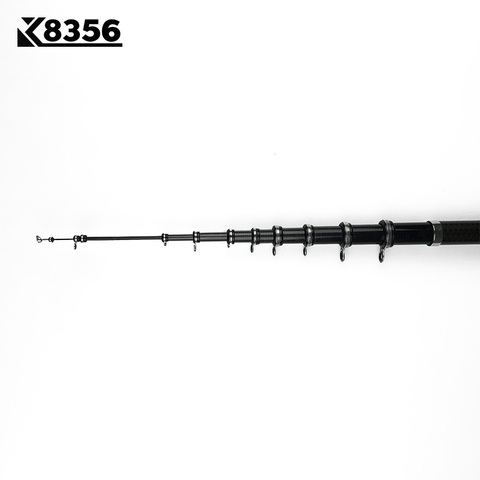 K8356 30T High Carbon Telescopic Rock Fishing Rod 2.7m 3.6M 4.5M 5.4M 3.0M 6.3M Sea Rod M Power Spinning Fishing Rod Hand Pole Islamabad