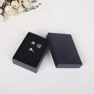 Image 4 - 6.3x8.5x2.5cm Beauty White Jewellery Gift Box Pendant Case Display for Ring Earring Necklace Watch Packaging 32pcs