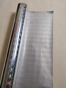 Image 5 - Heißprägefolie holographische folie silber dicke linie muster heißer drücken sie auf papier oder kunststoff wärme transfer film