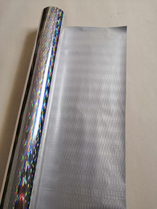 Image 5 - Hot stamping ฟอยล์ holographic ฟอยล์เงินหนารูปแบบร้อนกดบนกระดาษหรือพลาสติกความร้อน transfer ฟิล์ม