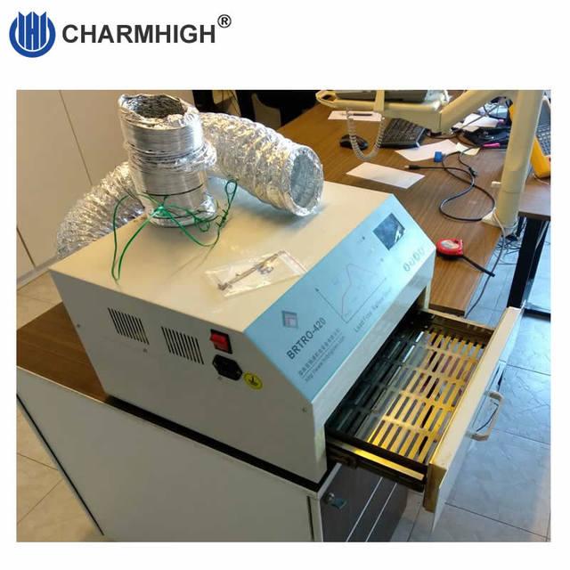 CHM 420リフロー炉、熱風 + 赤外線2500ワット、300*300ミリメートルbga smd smtリワークsation、220v