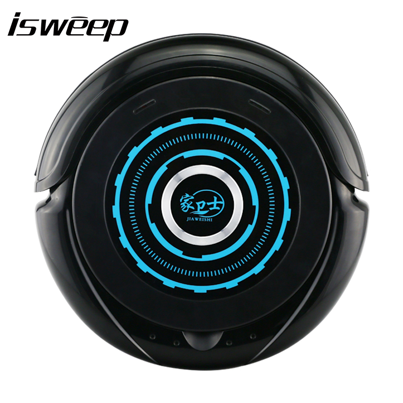 JIAWEISHI S3 Robot Vacuum Cleaner with 2200 mAh Li-battery Automatic Intelligence Sweeper Smart Cleaning Microfiber Dust Cleaner original jiaweishi robot vacuum cleaner for home automatic sweeping dust sterilize smart planned mobile app remote control