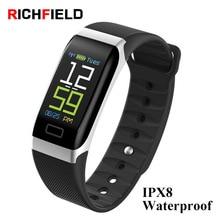 Health Wristband Sport Band Blood Pressure Heart Rate Monitor Sleep Call Reminder Fitness Tracker Smart band Smart Bracelet недорого