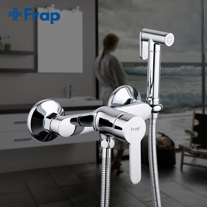 Image 1 - FARP robinets de Bidet, salle de bains, douche en laiton massif, pulvérisateur de toilettes, fonction de bidet, douche musulmane, robinet de douche cylindrique
