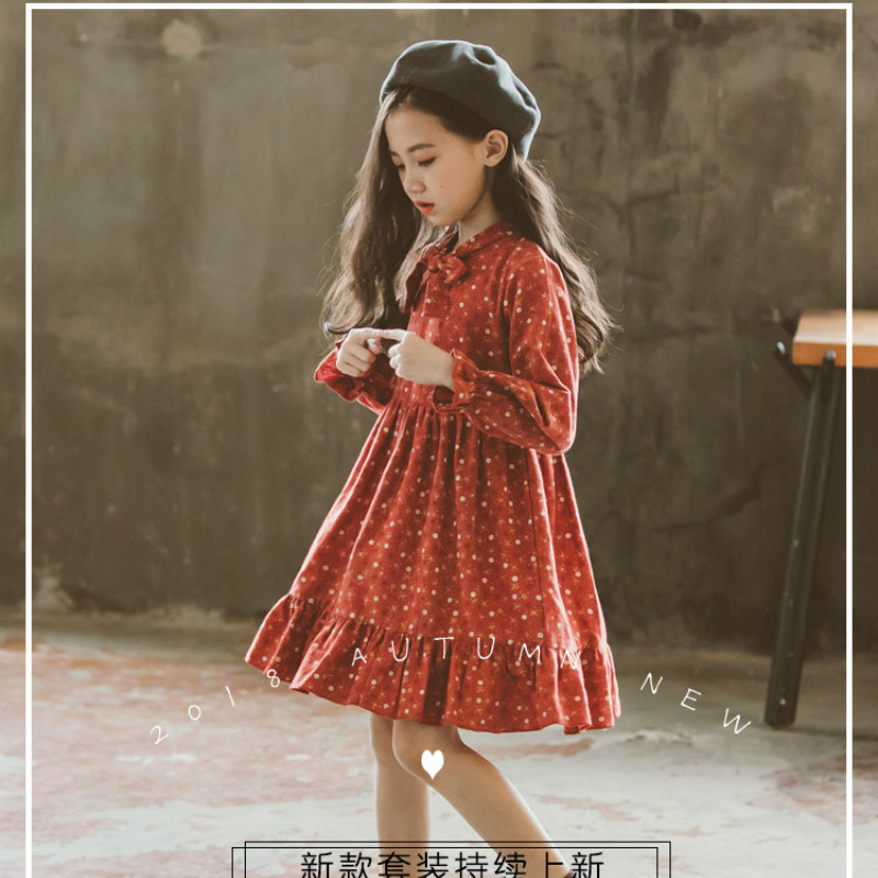 Autumn Clothing Dress 2018 New Korean Style Fashion Kids S Dresses Children Princess Vestidos Tide 4 14 Years Gdr416 In From Mother