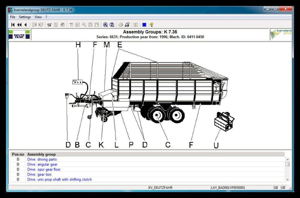 Deutz-fahr AG часть каталога v5.0.1 [2010] ...