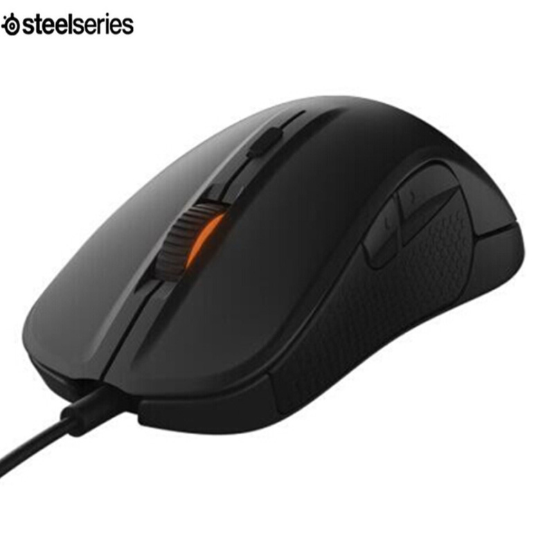 Steelseries Rival 300 CSGO 310 6500CPI Mice Silver Edition Optical Gradient Gaming Mouse For LOL DOTA2