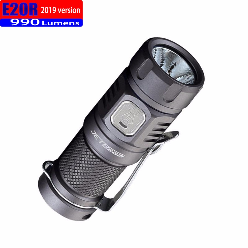 Купить с кэшбэком 2019 Jetbeam E20R Edc Lantern Cree SST40 N4 BC Led 990 Lumen 4 Model Memory Function Side Switch 16340 Flashlight