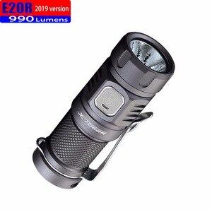 Image 5 - 2019 jetbeam e20r edc lanterna cree sst40 n4 bc led 990 lumen 4 modelo função de memória interruptor lateral 16340 lanterna