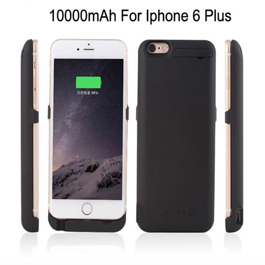 10000mAh External Recharger phone case Charger Backup Battery Case Pack Power Bank Case For iPhone 6