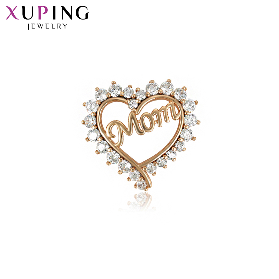 11,11 сделок Xuping Мода в форме сердца слайд Цепочки и ожерелья Подвеска Новый Дизайн Подвески Стиль украшения подарок на день матери S81, 7-33305