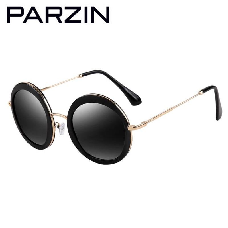 PARZIN Vintage Putaran Sunglasses Wanita Retro Polarized Sunglasses - Aksesori pakaian - Foto 3