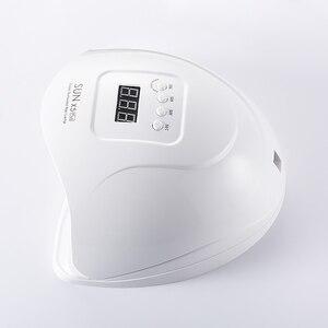 Image 4 - 80W SUN X5 PLUS UV Lamp Professional LED โคมไฟเล็บคู่เล็บอินฟราเรด Auto SENSOR การบ่มเจลเล็บ
